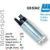 Fuel Pump - Walbro Motorsport Fuel Pump - Toyota/Honda/Mitsubishi